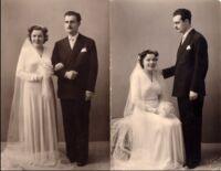 Abito da sposa anni 40
