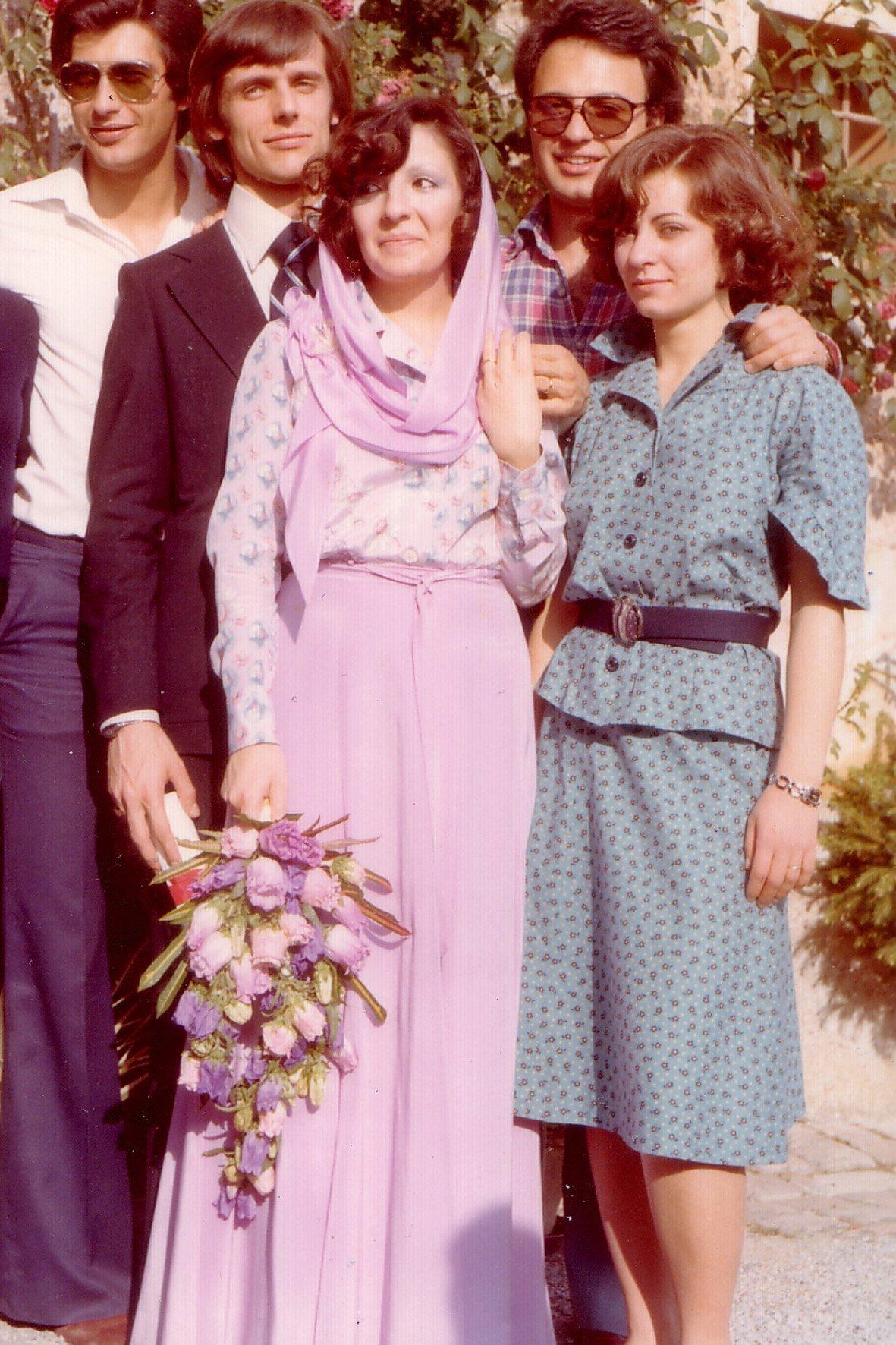 Abito da sposa anni 70