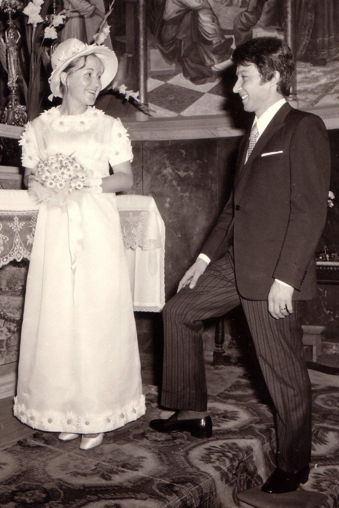 Abito da sposa anni 50
