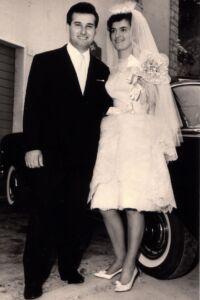 Abito da sposa anni 60