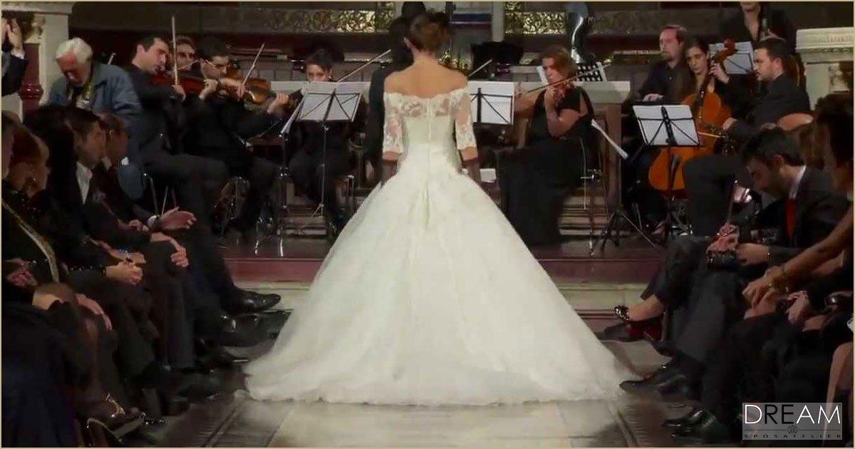sfilata abiti da sposa roma