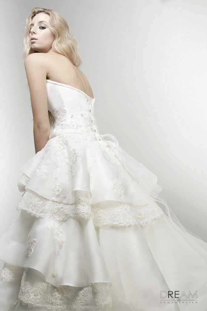 abiti da sposa romantica