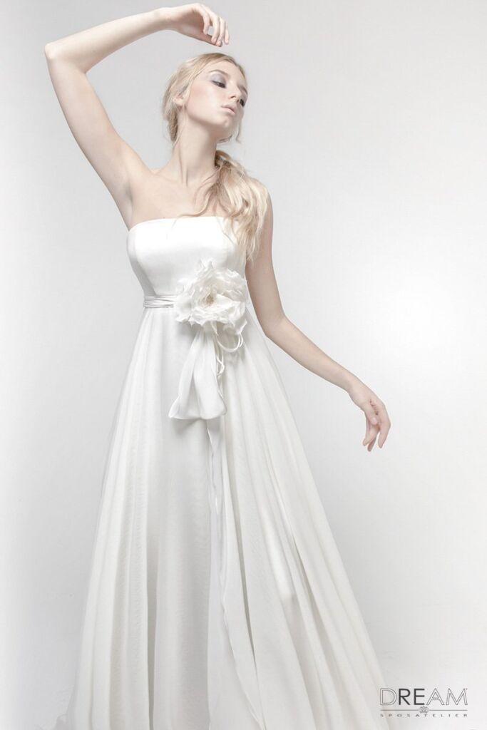 abito da sposa scivolati
