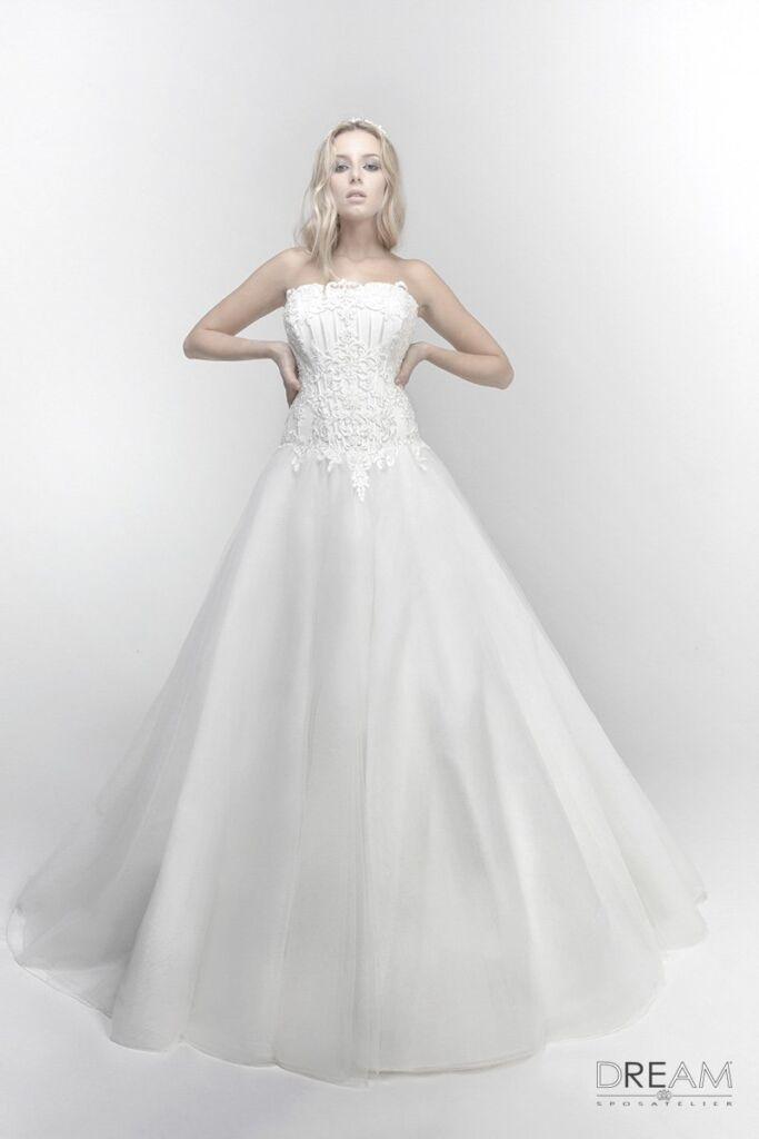 abito da sposa modello graziosa