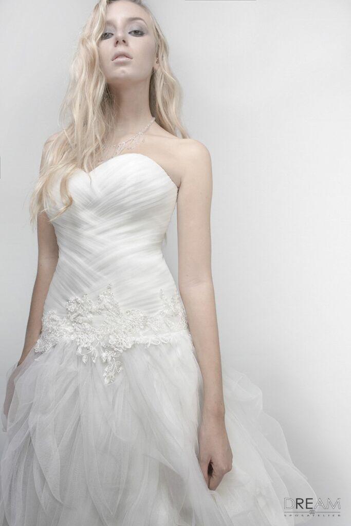 abiti da sposa di tulle