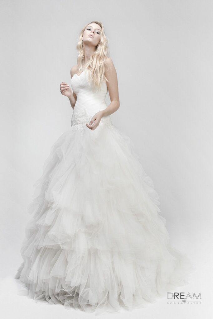 abito da sposa nuvola