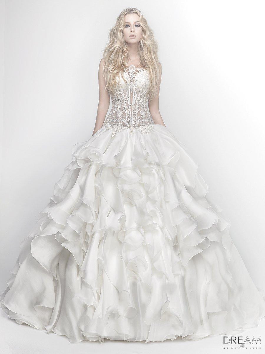 d9852acd38eb Abito da sposa Tentazione - Abiti da sposa Roma su misura Dream Sposa