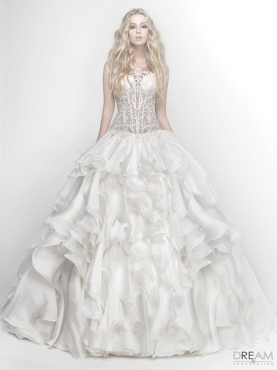 abito da sposa romanico