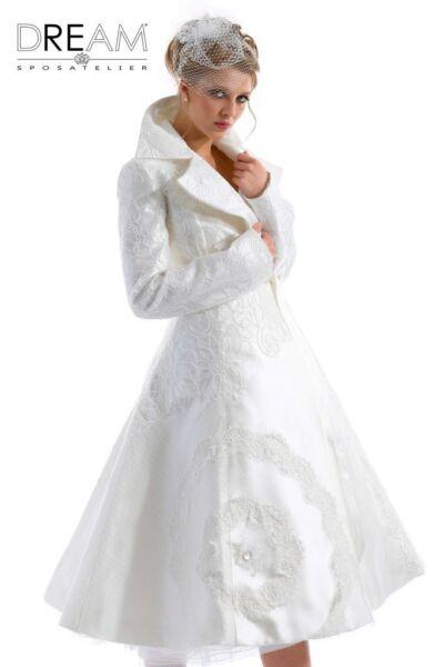 Cappotto da sposa patchwork