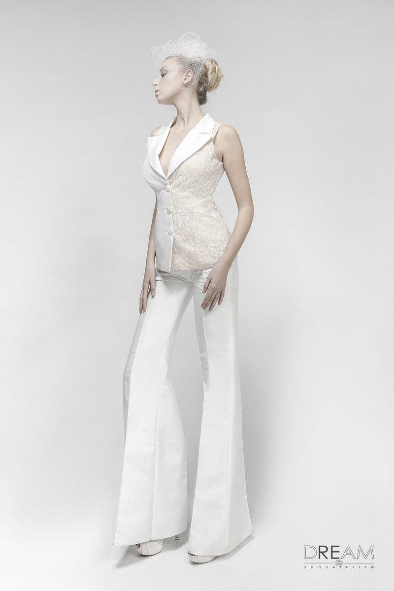 abito da sposa pantalone