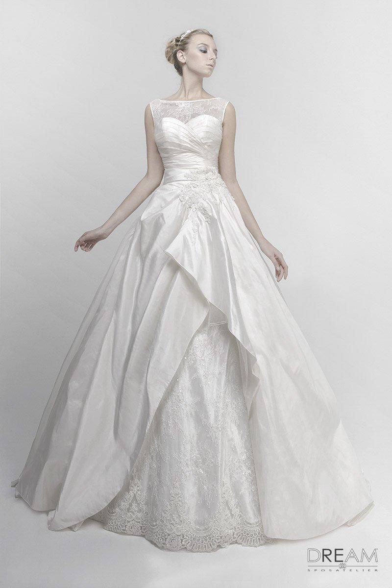 abito da sposa trasformabile 3 in 1