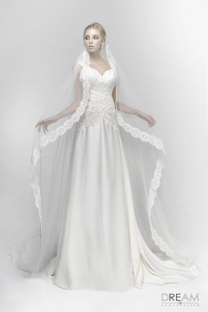 abito da sposa modello Incantesimo