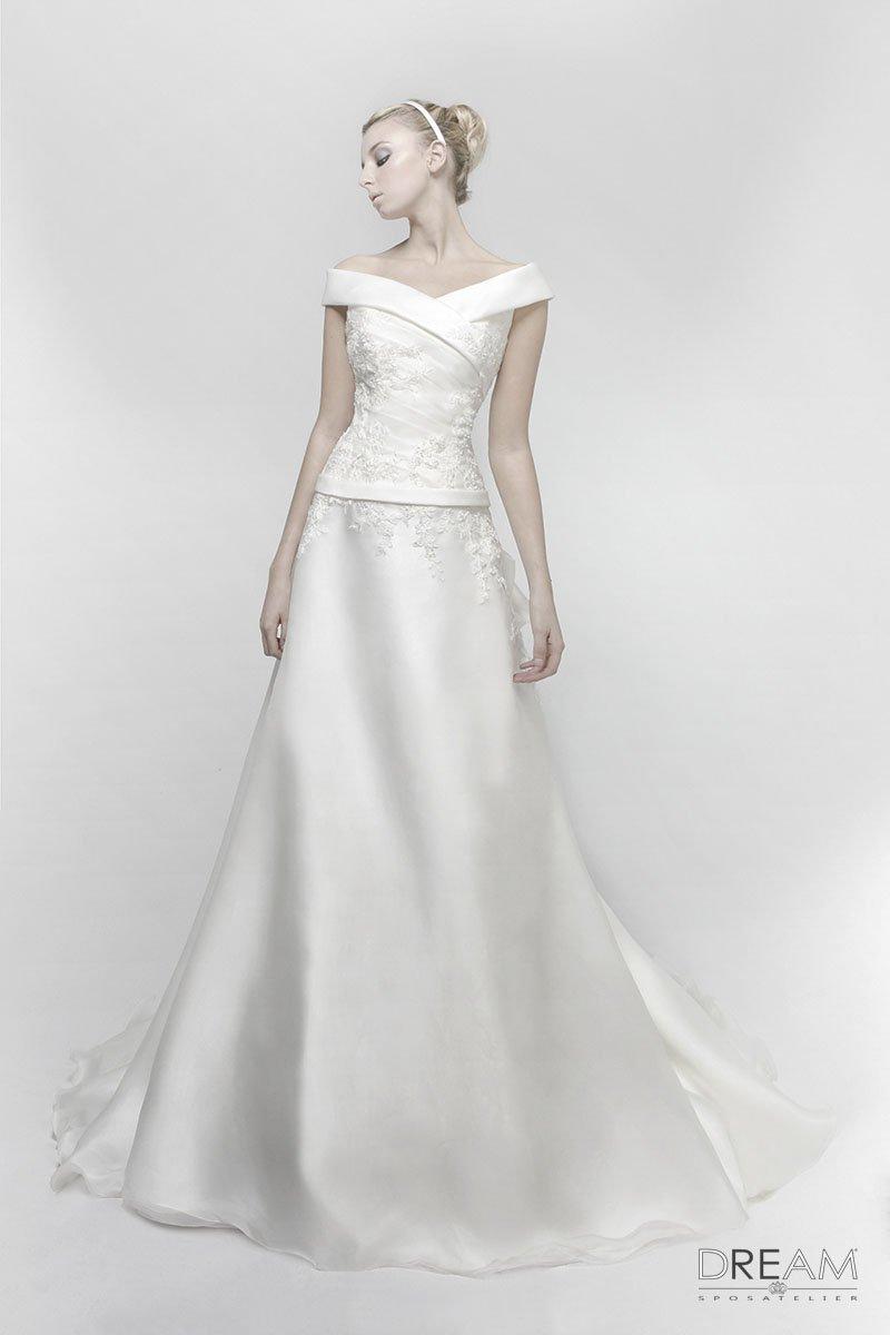 dc939e9b0b16 Abito da sposa Lady - Abiti da sposa Roma su misura Dream Sposa