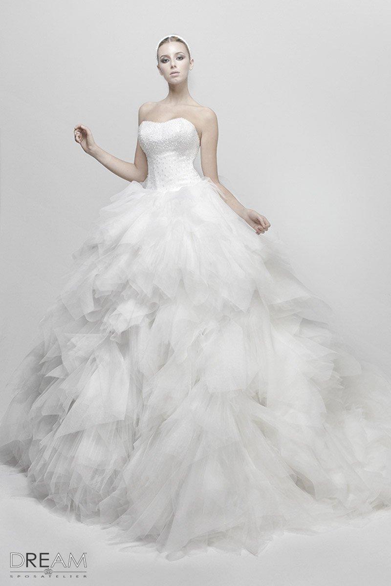abito da sposa trasformabile 2 in 1