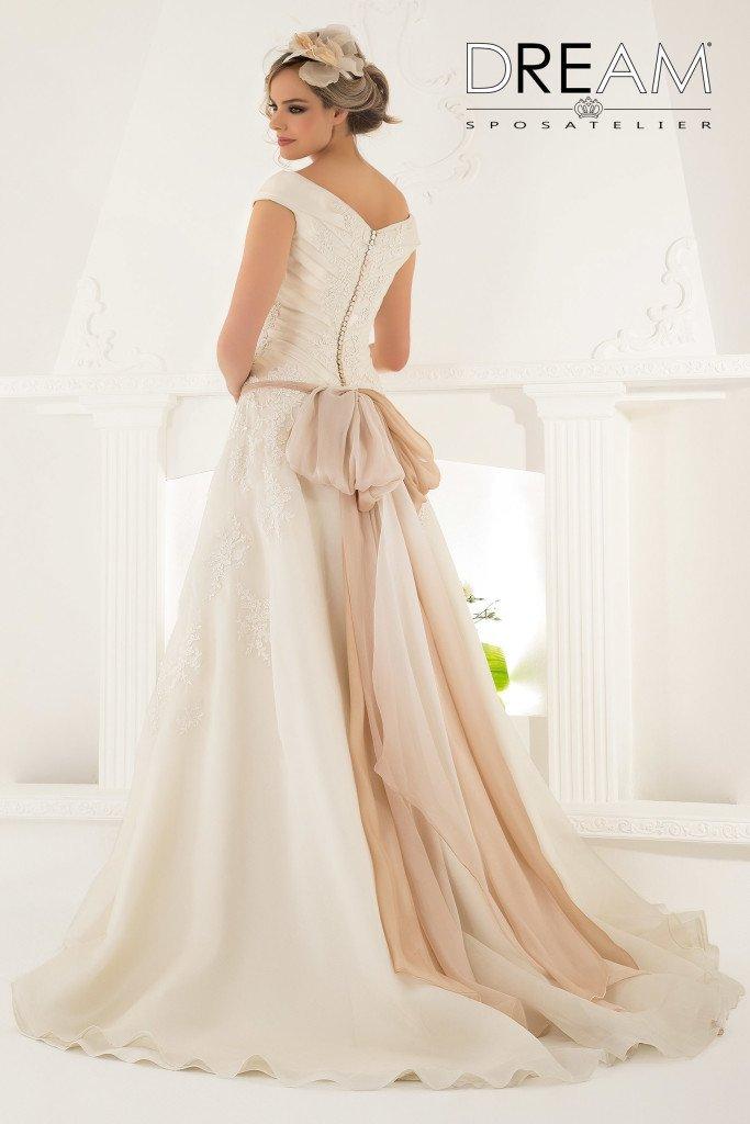 abito da sposa modello Dama
