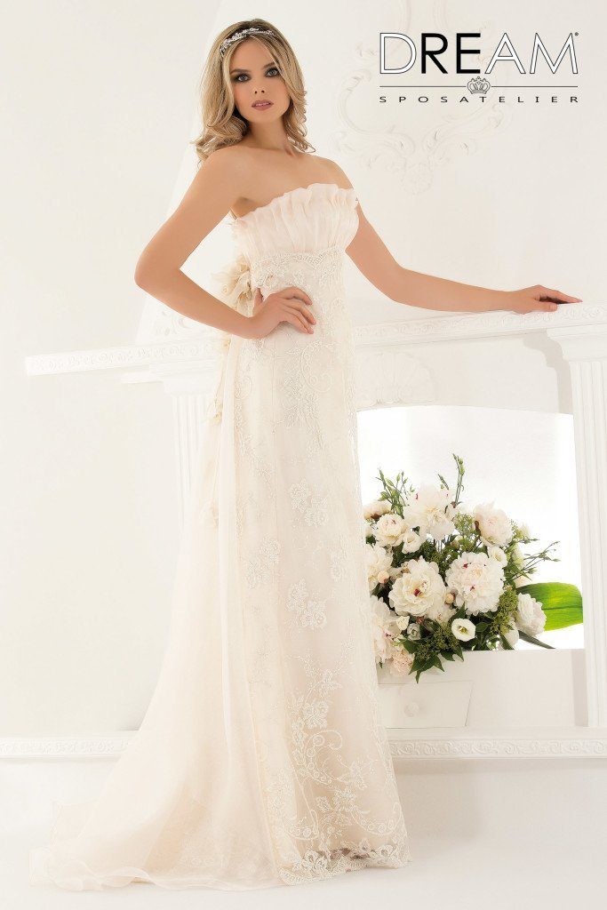 abito da sposa modello Delizia