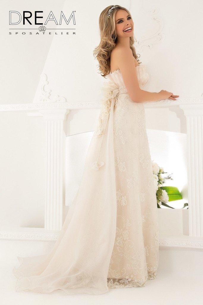 abito da sposa dritto