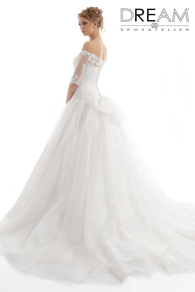 abito da sposa gonna ampia
