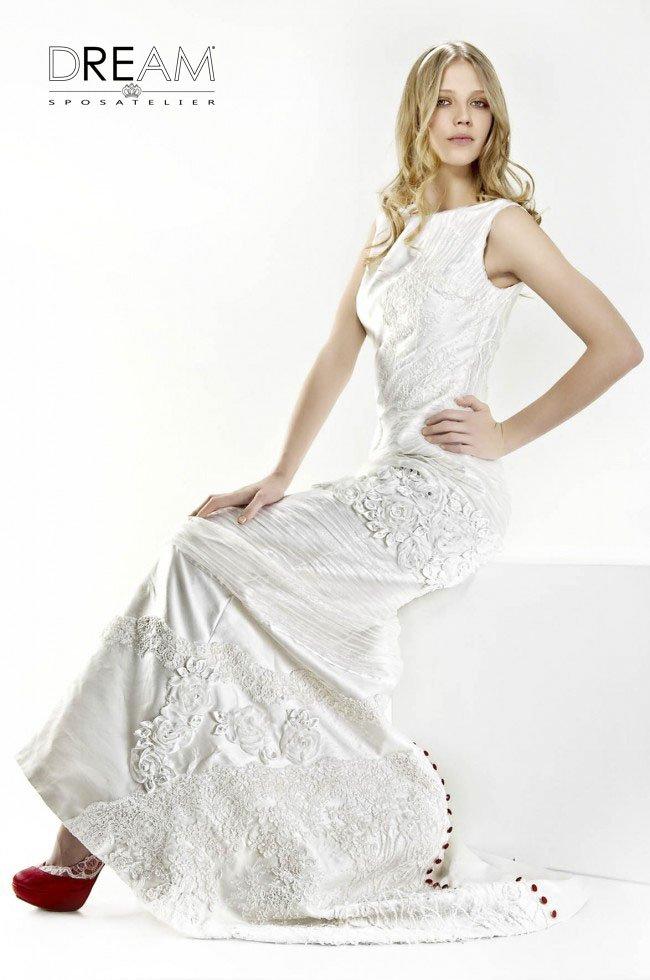 abito da sposa patchwork