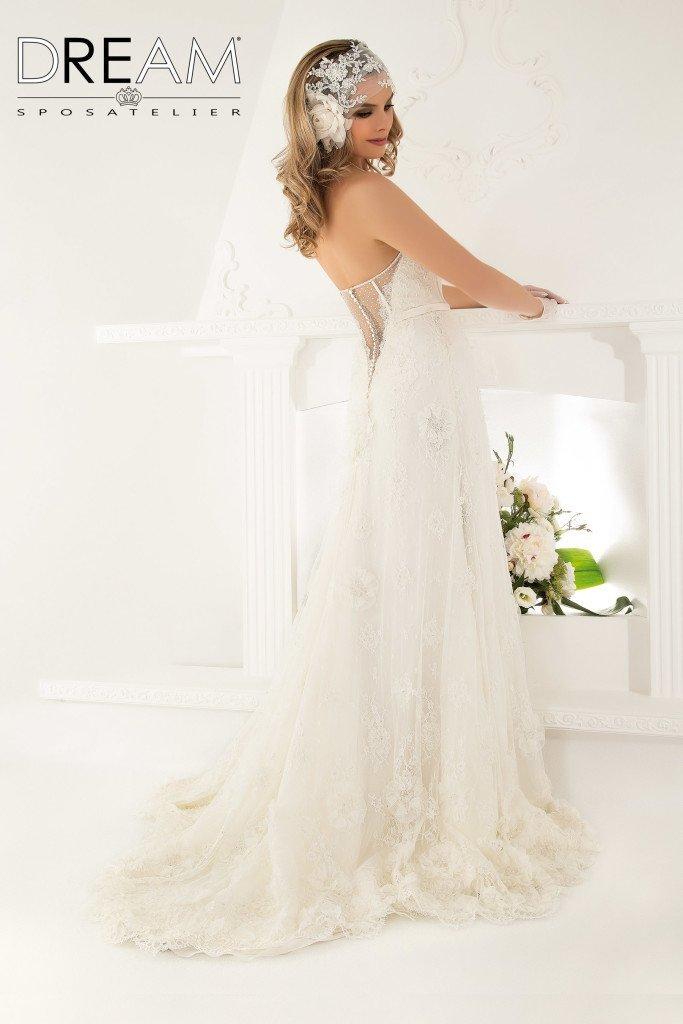 abito da sposa modello Malizia