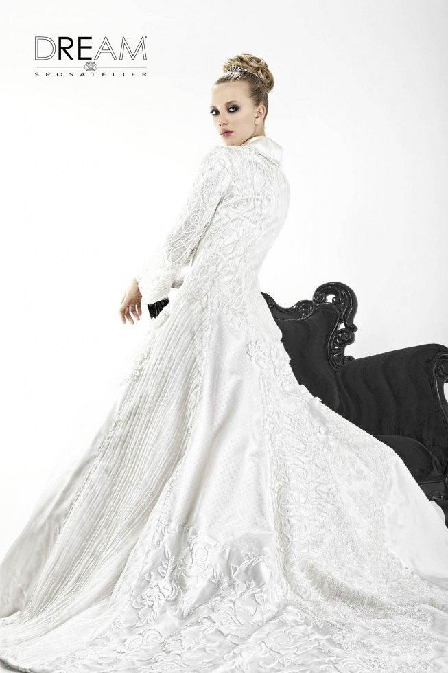 Dream sposa cappotto
