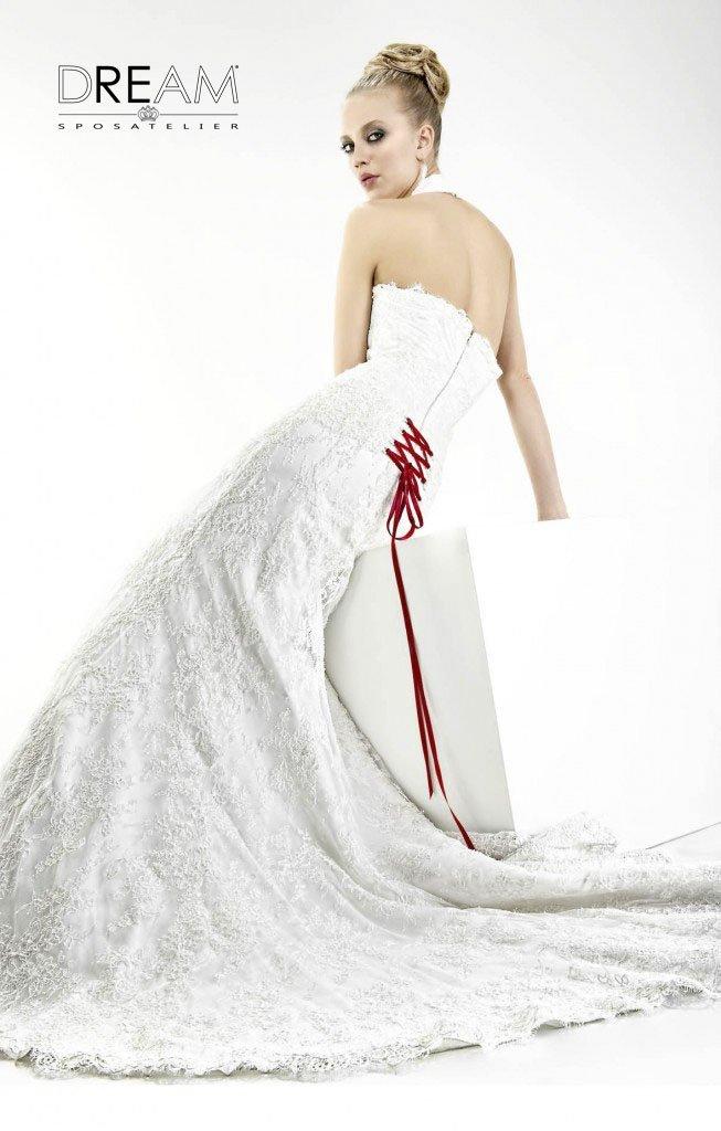 abito da sposa a sirena