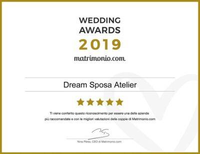 Wedding Awards abiti da sposa