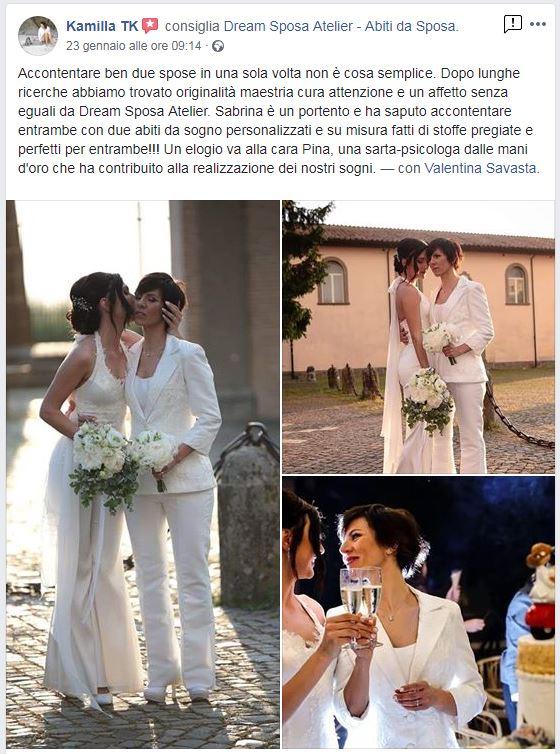 Il Matrimonio Lgbt Abiti Da Sposa Roma Su Misura Dream Sposa