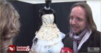 abito da sposa in carta di seta