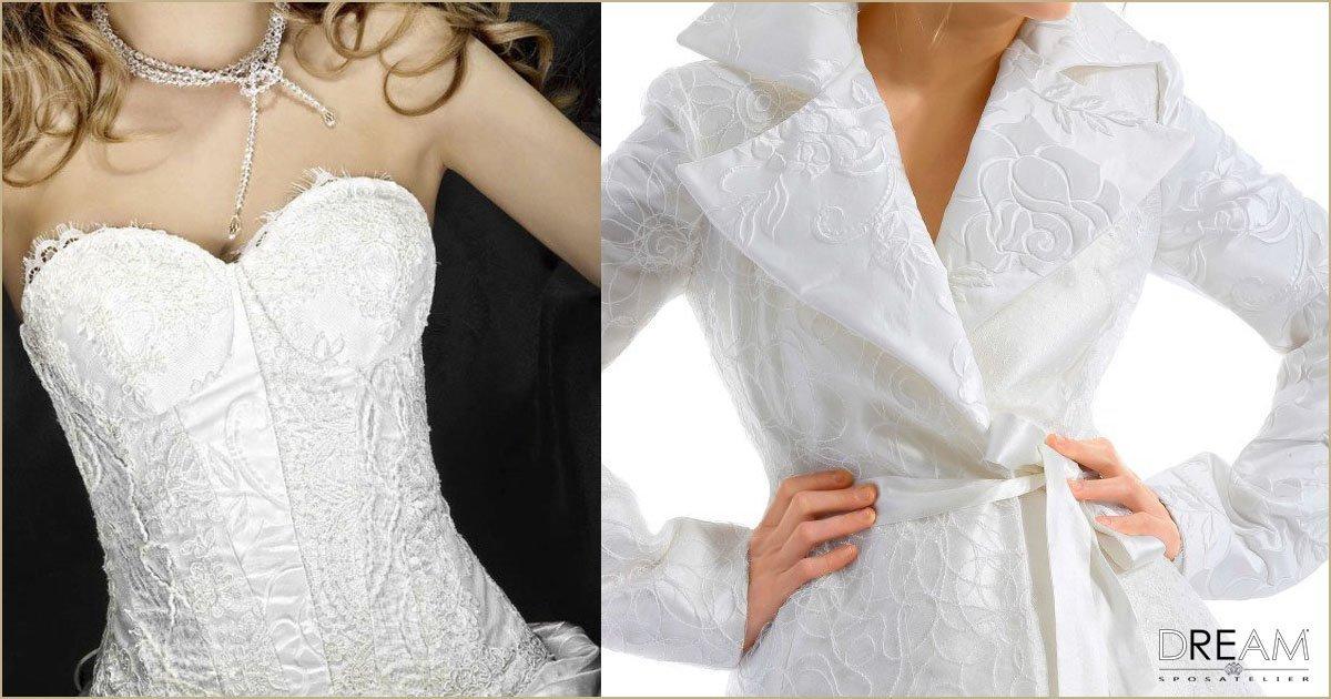 abiti da sposa patchwork